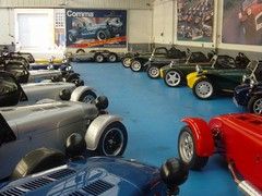 Caterham's Caterham showroom now gone