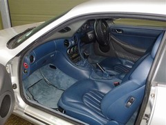 Blue interior is an acquired taste