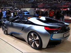 BMW i8 Spyder is nearing production