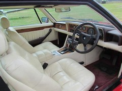 Wide interior was lavishly-trimmed