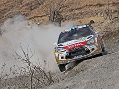 Hirvonen was pleased with second spot