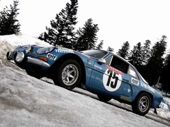 Dauce's A110 in Monte Historique colours