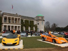 No shortage of tasty motors on the lawn