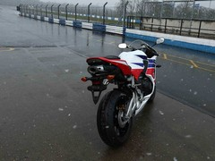 Miserable conditions tested the new CBR