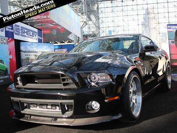 Shelby GT 1000: New York Motor Show   PistonHeads