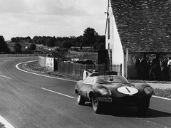 Le Mans, 1956: Hawthorn at the wheel