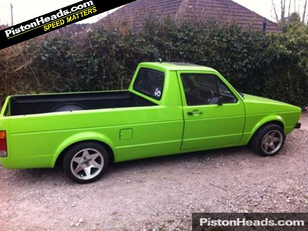 new vw caddy pick up revealed pistonheads. Black Bedroom Furniture Sets. Home Design Ideas