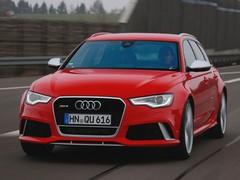 RS6 longer & wider but lighter than rivals