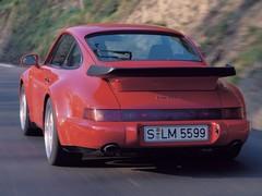 Single turbo 3.6 gave 964 Turbo proper pace