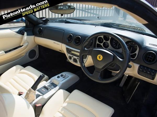 2004 Ferrari 360 - Pictures - CarGurus |Ferrari 360 Modena Interior