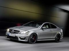 C63 coupe wears AMG accoutrements well