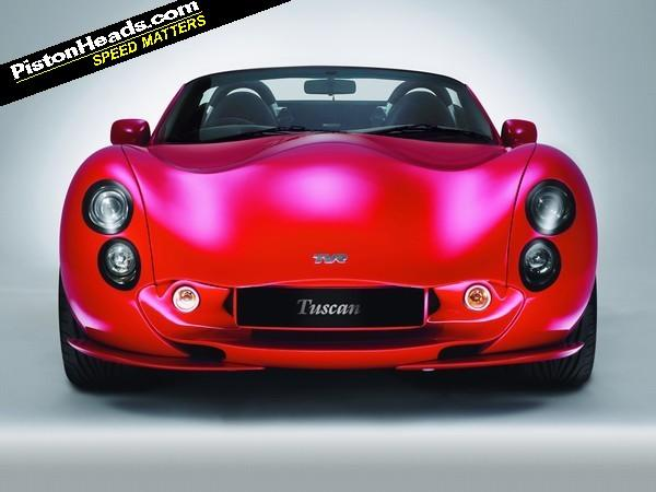 The Tvr Tuscan Spanned The