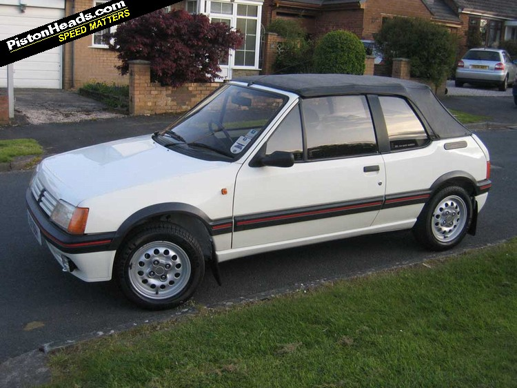 peugeot 205 gti and cti ph carpool pistonheads. Black Bedroom Furniture Sets. Home Design Ideas