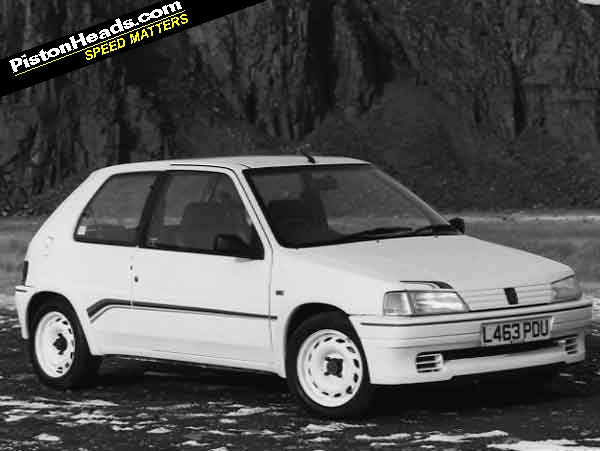 peugeot 106 rallye: spotted | pistonheads