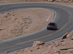 Record set on newly tarmac covered hillclimb