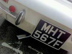 Signature off centre Alfa exhausts always cool