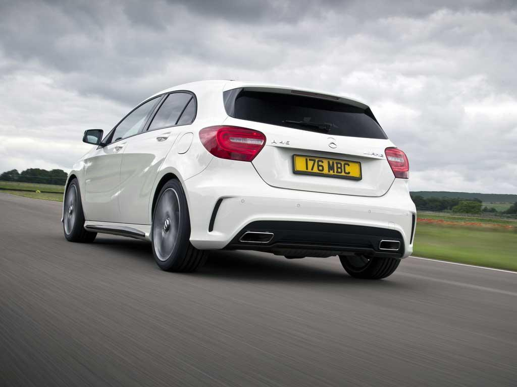 Not a huge price walk from R to A45 AMG...