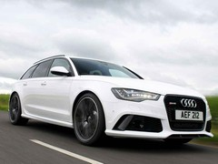 Big - everything about the RS6 is big