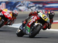 Bradl got off to a flying start at Laguna Seca