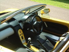 Interior befits the Sport Spider tag