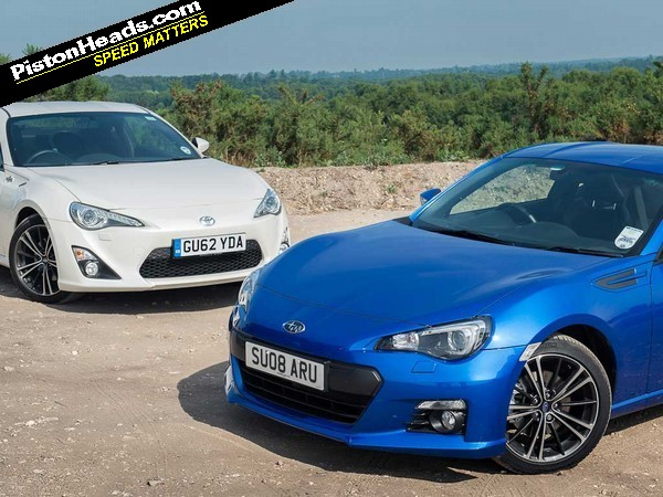 RE: Toyota GT86 vs Subaru BRZ: Blood Brothers - Page 1 ...