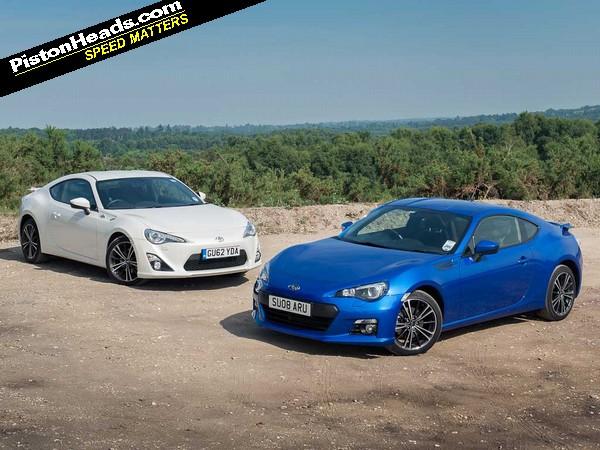 Toyota GT86 vs Subaru BRZ: Blood Brothers   PistonHeads UK