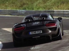 918 with a new exhaust? Yep, Dale missed it...