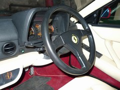 Lovely steering wheel, awful driving position