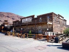Calico ghost town is on the itinerary