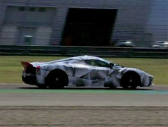 Active aero emerges from LaFerrari's body