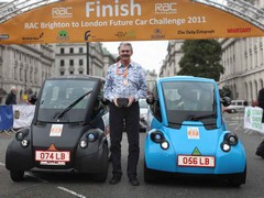 Murray ready with his two-pronged city car project