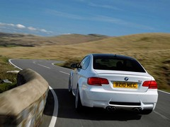 Bwaap, bwaap! Paddles suit the M3's V8