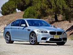 Americans have the option of a manual M5