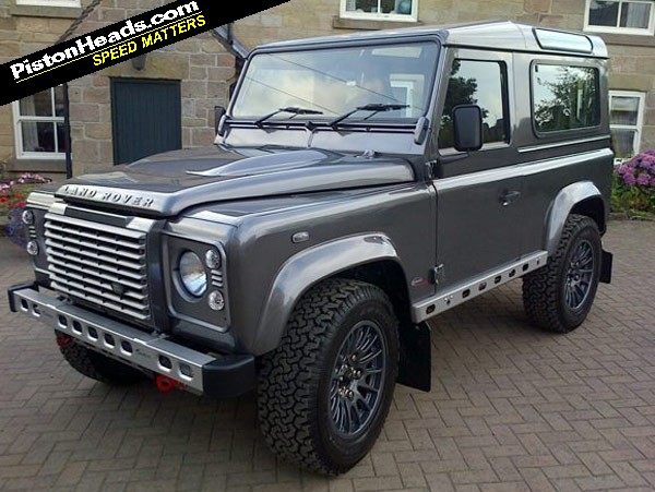 Bowler Defender To Debut At Carfest South Pistonheads