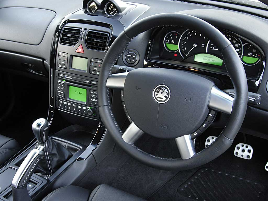 Holden Monaro Interior