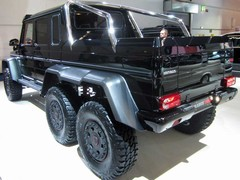 Brabus nails the blinged up G-Wagen thing...