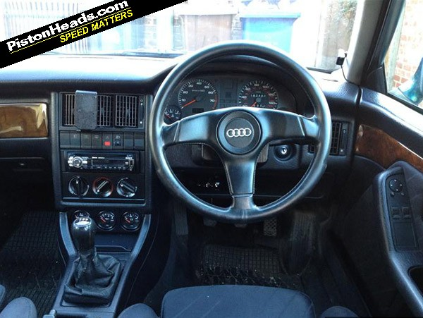 Re shed of the week audi 80 avant page 1 general for Audi 80 interieur