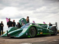 Drayson now has a new speed record of 205.1mph