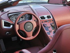 Interior is a big step up from DB9 and DBS