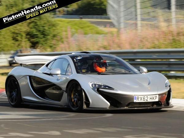 McLaren P1 Nurburgring lap time | PistonHeads