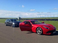 Another day, another Ferrari shoot at Anglesey