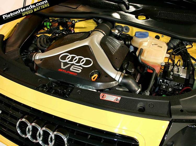 Audi Ttrs L on V6 Engine Piston