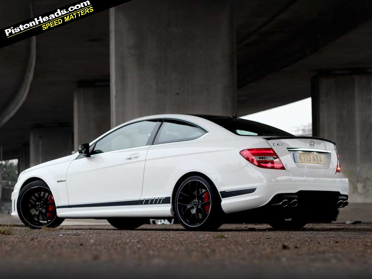 Mercedes C63 Amg Coupe Edition 507 Review Pistonheads