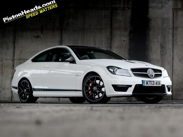 Mercedes c63 amg coupe edition 507 review pistonheads for Mercedes benz c63 amg edition 507