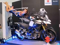 Suzuki: Flying girls, yes. New bike, no