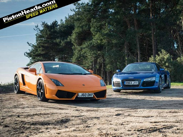 Lamborghini Gallardo Vs Audi R8 V10 Blood Bros Pistonheads