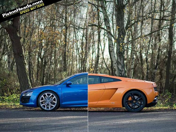 Lamborghini Gallardo Vs Audi R8 V10 Blood Bros Pistonheads