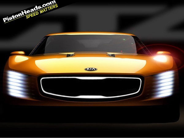 RE New Kia coupe concept teased before Detroit  Page 1  General