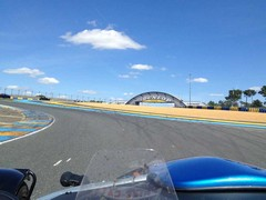 Le Mans among the many tracks visited