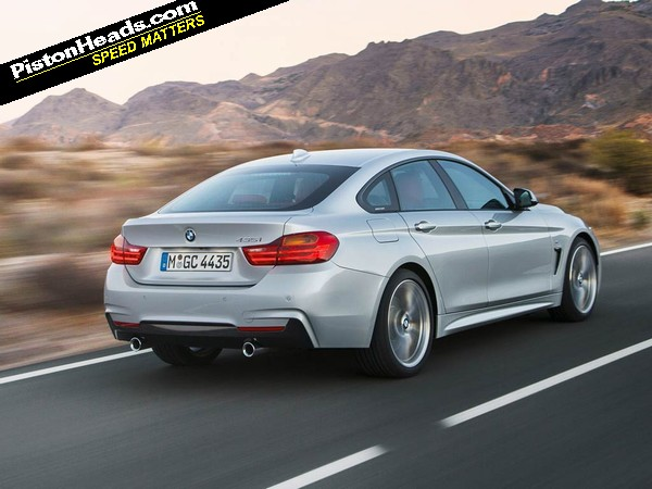 bmw 4 series gran coupe details pistonheads. Black Bedroom Furniture Sets. Home Design Ideas